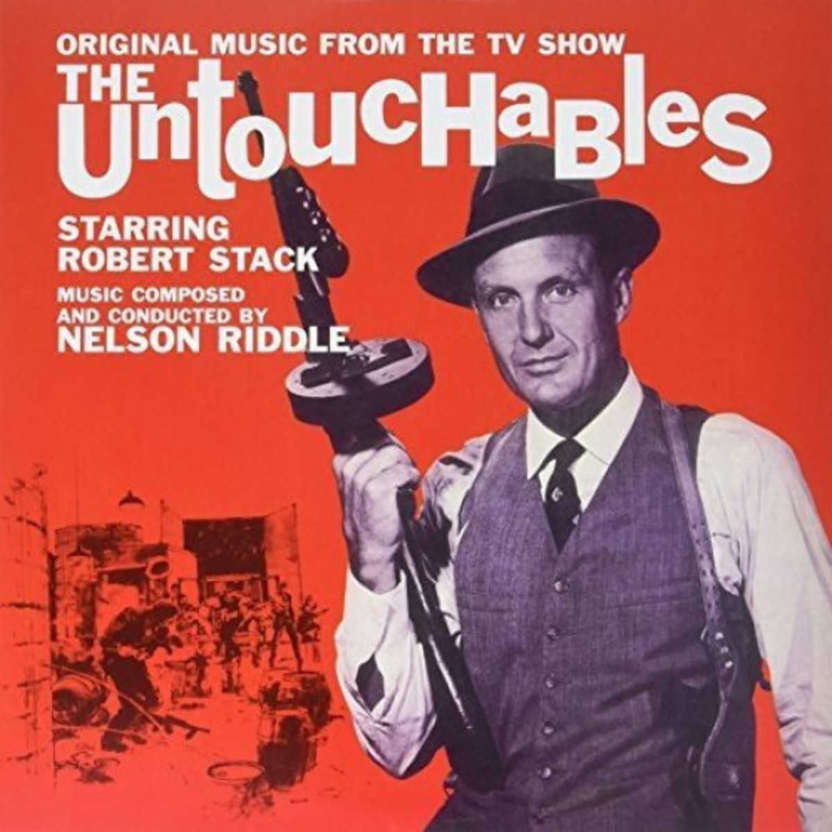Robert Stack of 'The Untouchables'