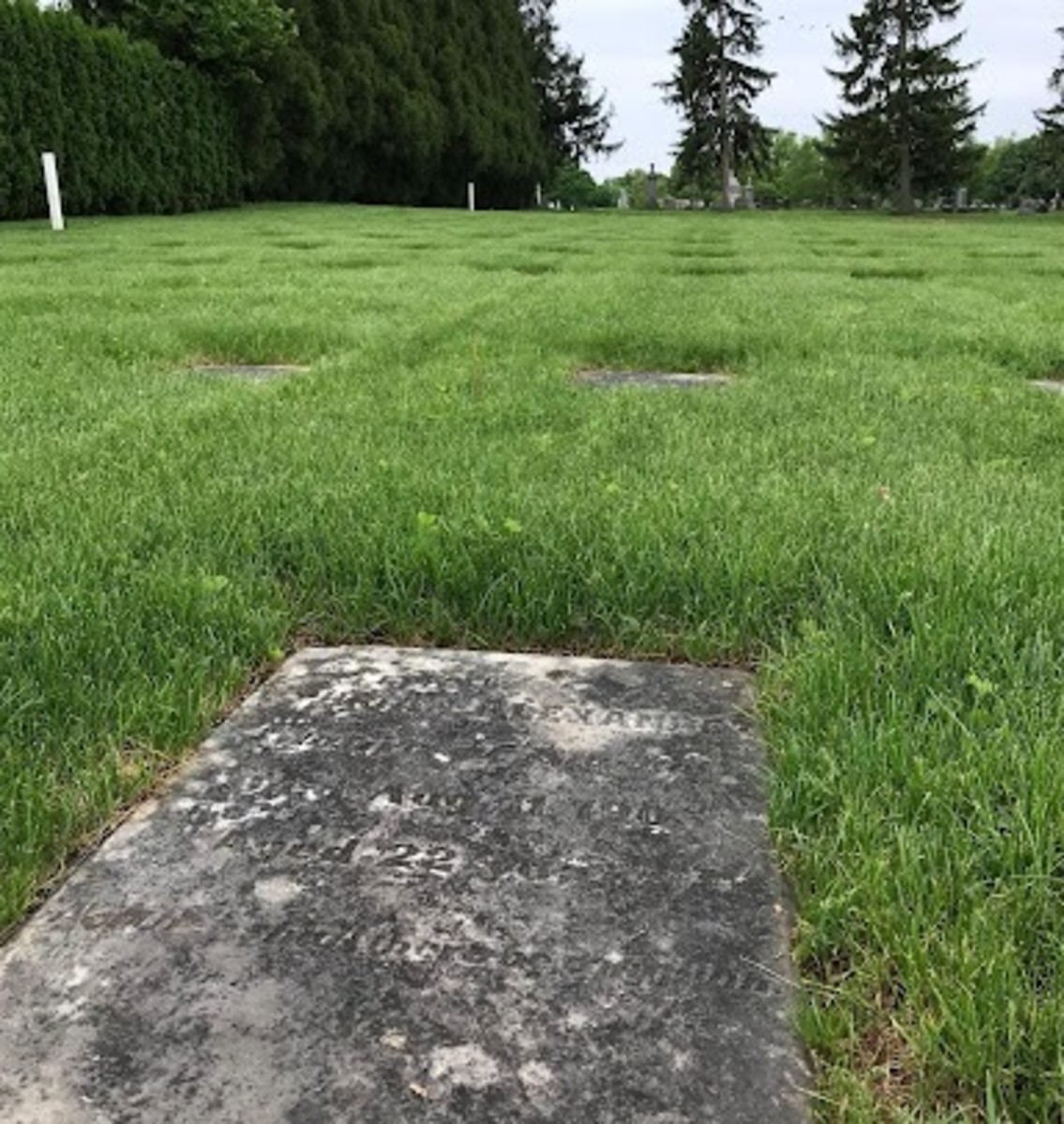 Ephraim Alexander, a Yup'ik student who died in 1905 while attending the Carlisle Indian Industrial School, was buried in Lititz, Pennsylvania. He was 22. (Photo courtesy of Louellyn White)