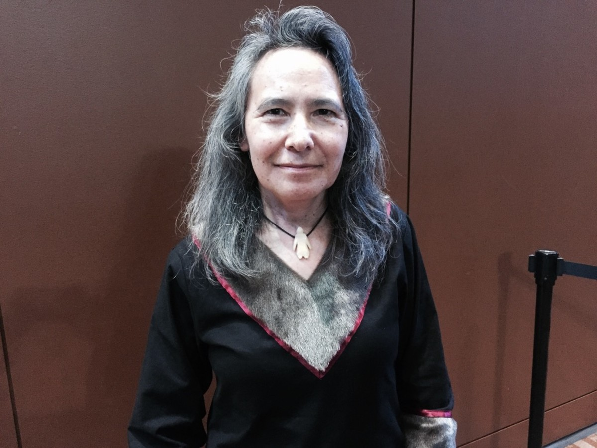 Dalee Sambo Dorough, Inuit, is international chairperson for the Inuit Circumpolar Council. 2015 (file photo by Joaqlin Estus)