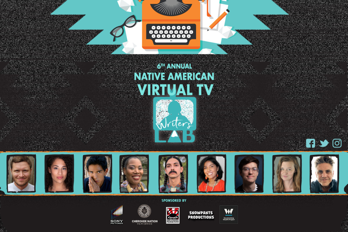 6th Annual Native American TV Writers Lab flyer.