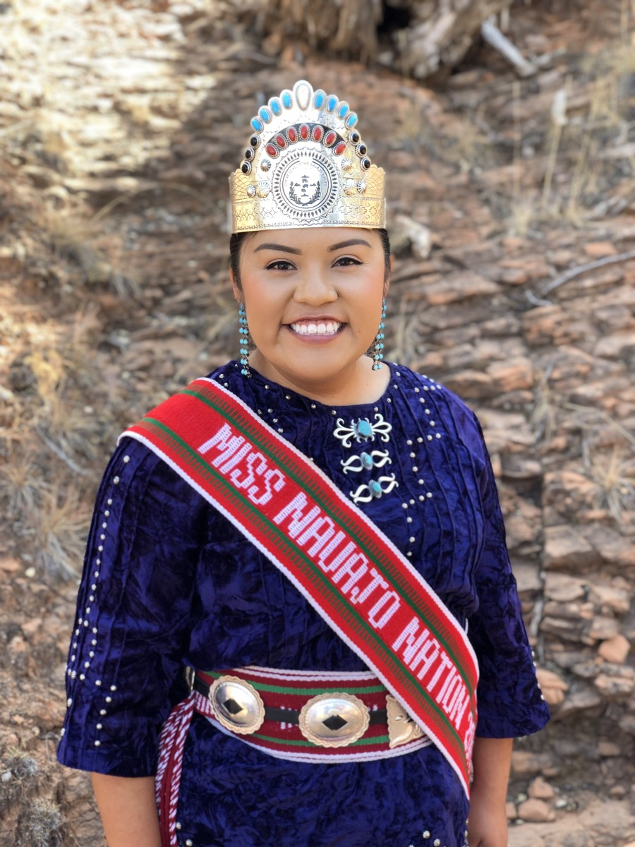 Miss Navajo Nation, Shaandiin Parrish, was crowned in 2019 but her reign was extended into 2021 because of the pandemic. (Photo courtesy of Office of Miss Navajo Nation)