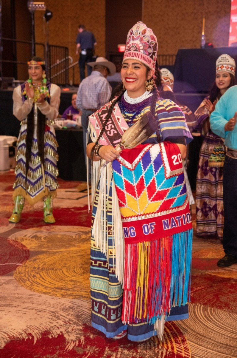 Miss Indian World Cheyenne Eete Kippenberger, Seminole Tribe of Florida, won the title in 2019 but served an extra year because of the pandemic. She is stepping down April 24, 2021.