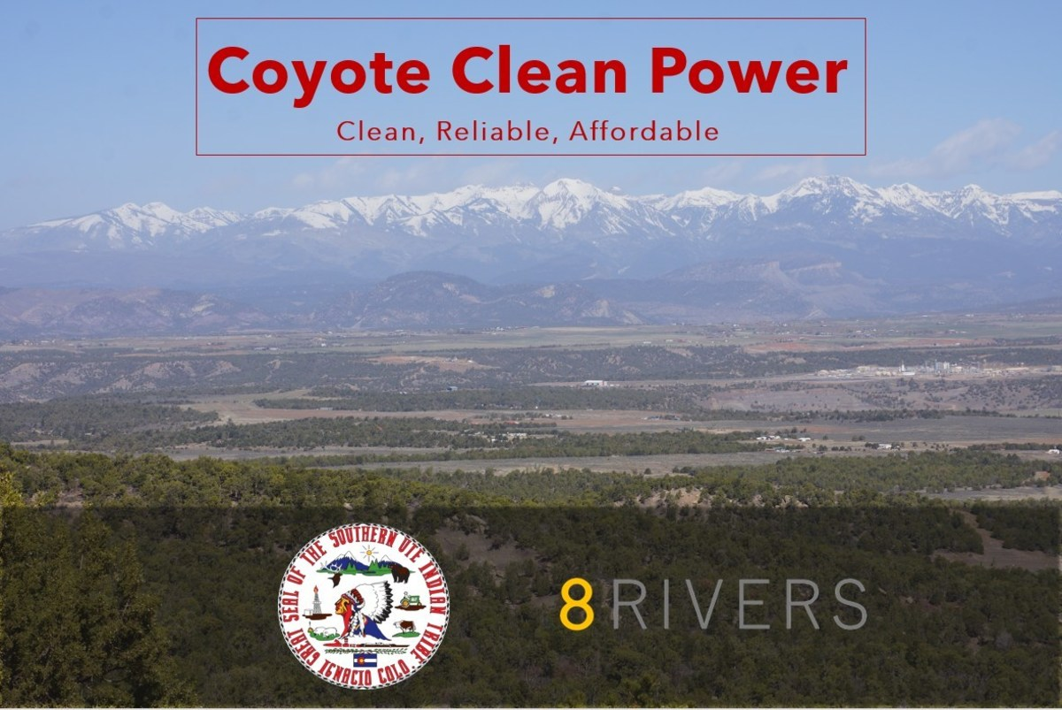Southern Ute Indian Tribe and 8 Rivers partner to develop the Coyote Clean Power Project.