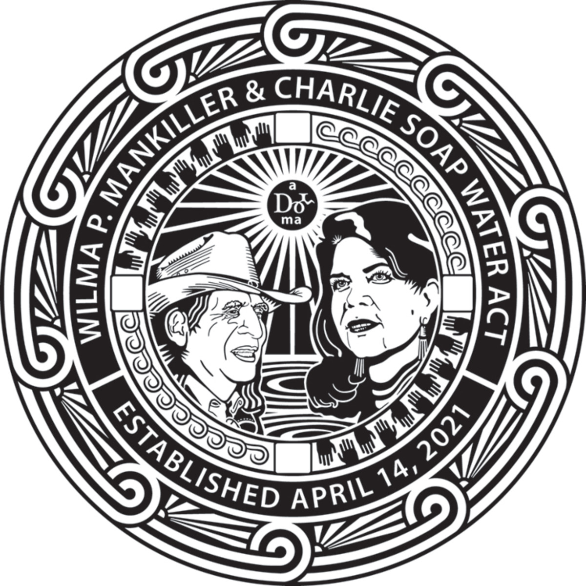 Cherokee Nation Mankiller/Soap Water Act seal.