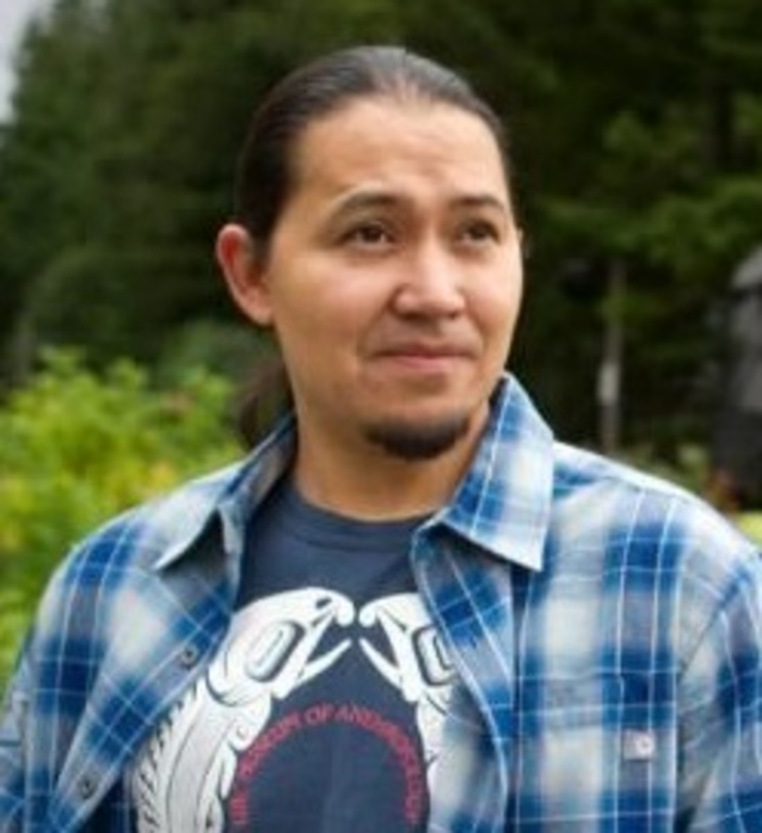 X̱'unei Lance Twitchell is a citizen of the Tlingit and Haida Indian Tribes and associate professor of Alaska Native languages at the University of Alaska Southeast.