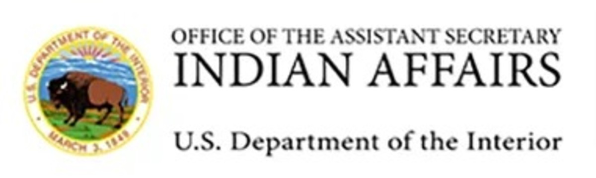 Office of the Assistant Secretary - U.S. Department of the Interior Indian Affairs --- banner logo 02