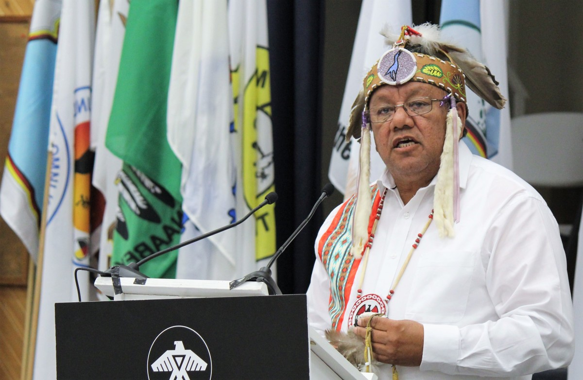 Pictured: Anishinabek Nation Grand Council Chief Glen Hare.