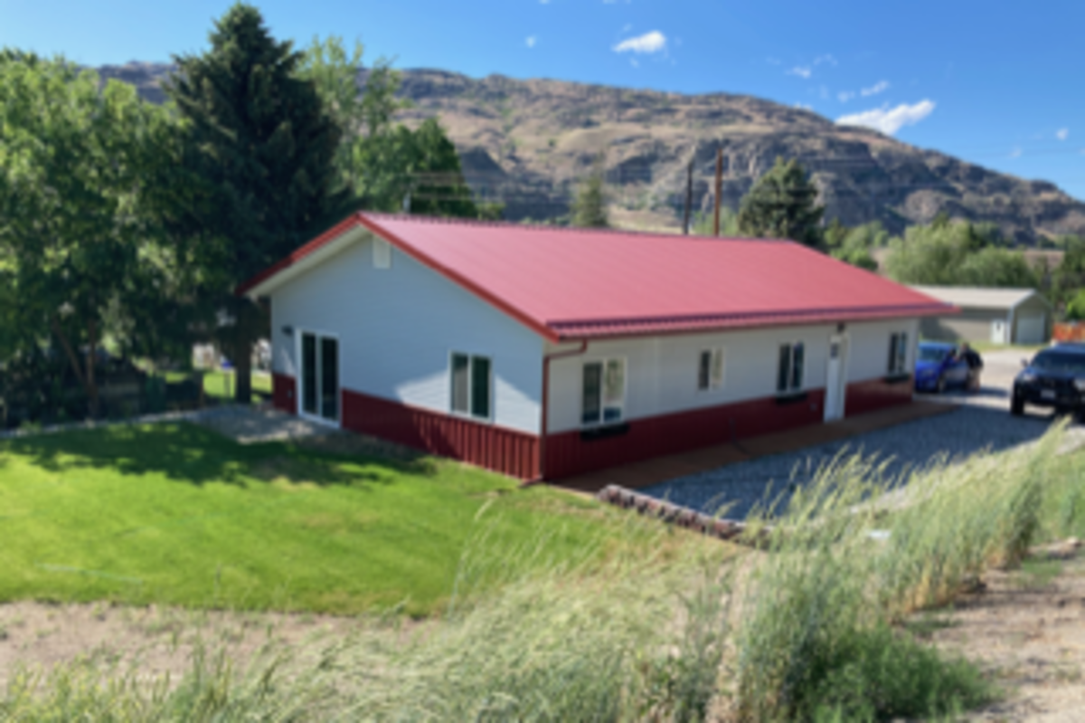 In 2019, the Northwest Native Development Fund saw another need it could meet. The fund financed construction of a 1,500-square-foot home to create additional housing stock in the region. (Photo courtesy of Ted Piccolo, NNDF)