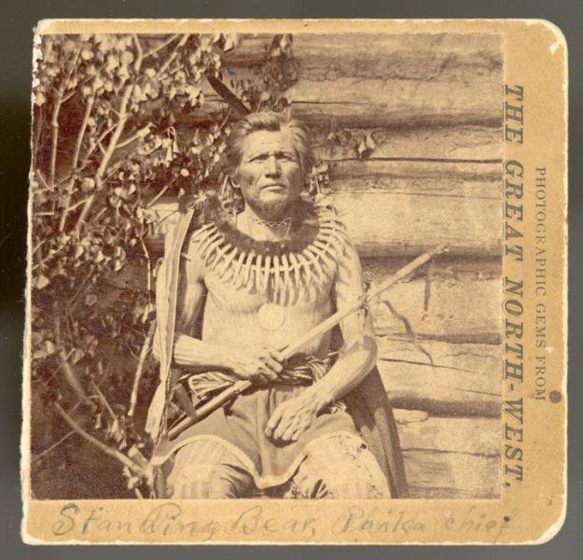 Standing Bear, Ponca. (Photo courtesy of Ponca Nation)