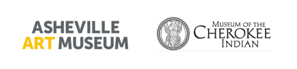 Asheville Art Museum + Museum of the Cherokee Indian - logos