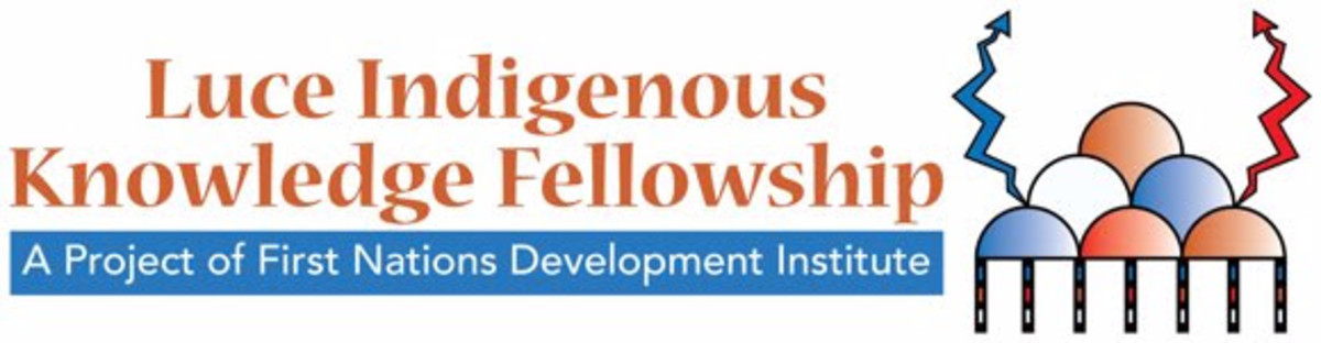Luce Indigenous Kmowledge Fellowship _ First Nations Development Institute _ banner identity