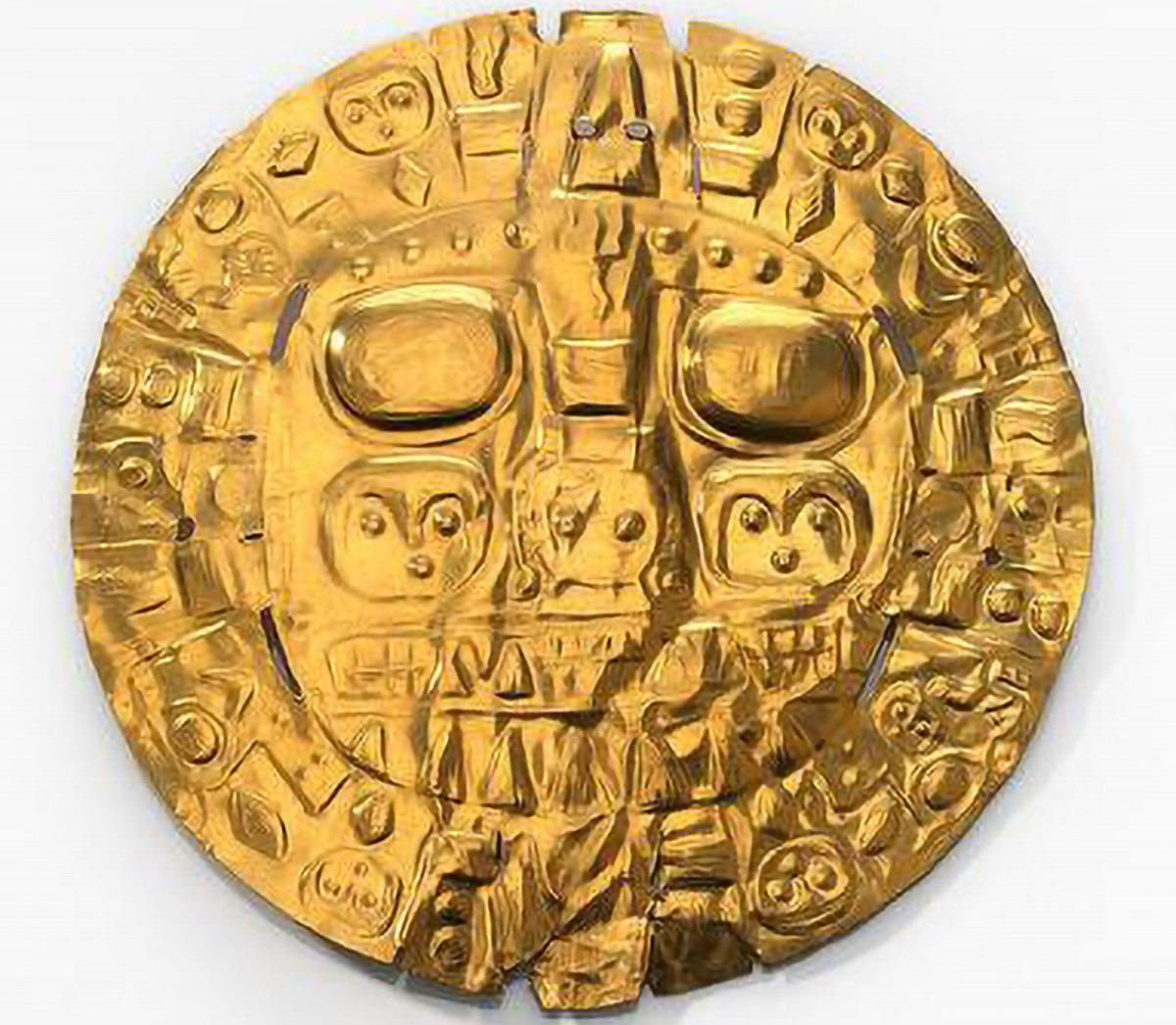 National Museum of the American Indian and the Government of the Republic of Peru sign a memorandum of understanding to return the 'Echenique Disc' to Peru