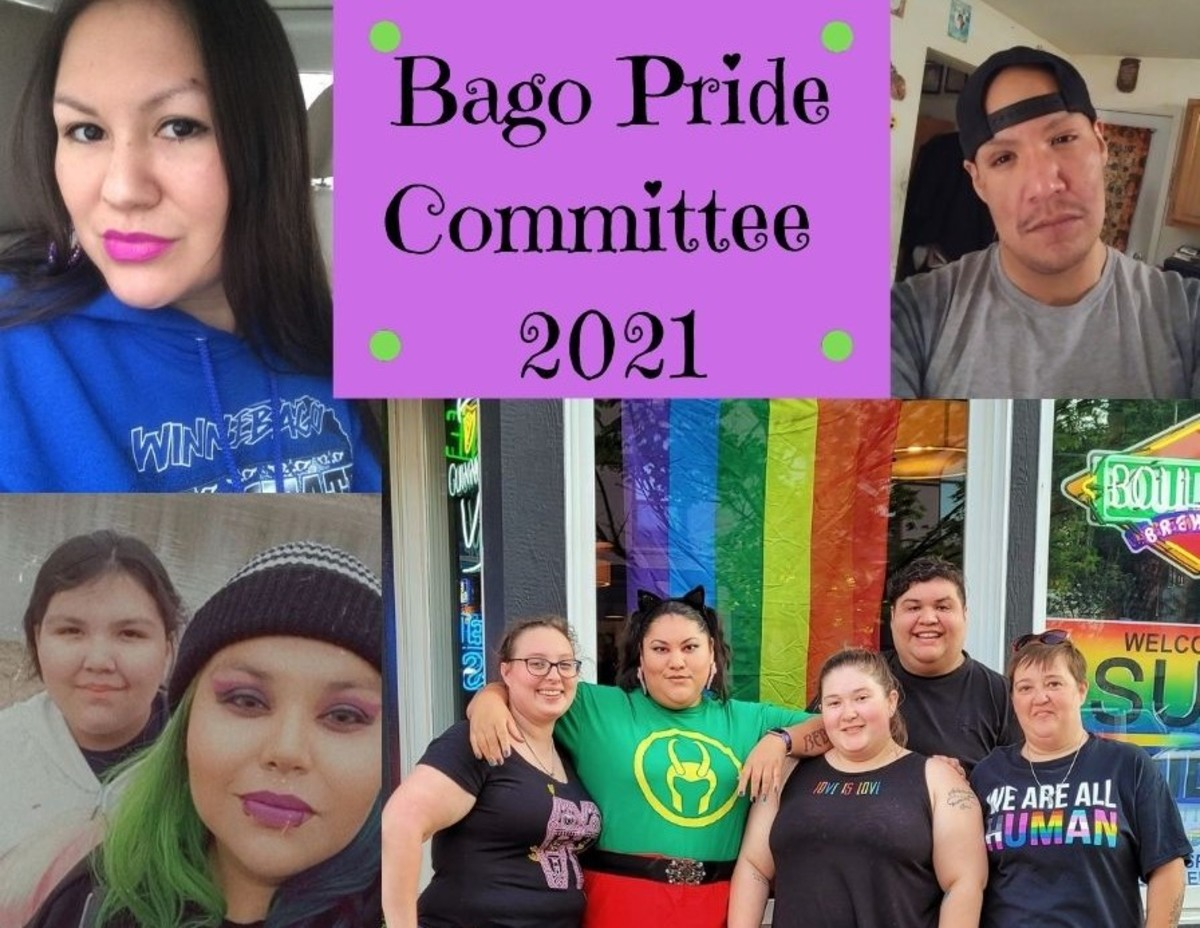 Pictured: Bago Pride Committee 2021.