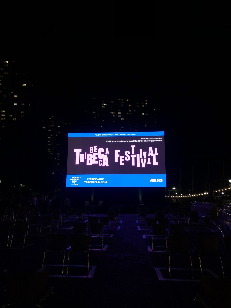 Tribeca Festival Screening on June 15, 2021. (Photo courtesy of Meghan Sullivan, Indian Country Today)
