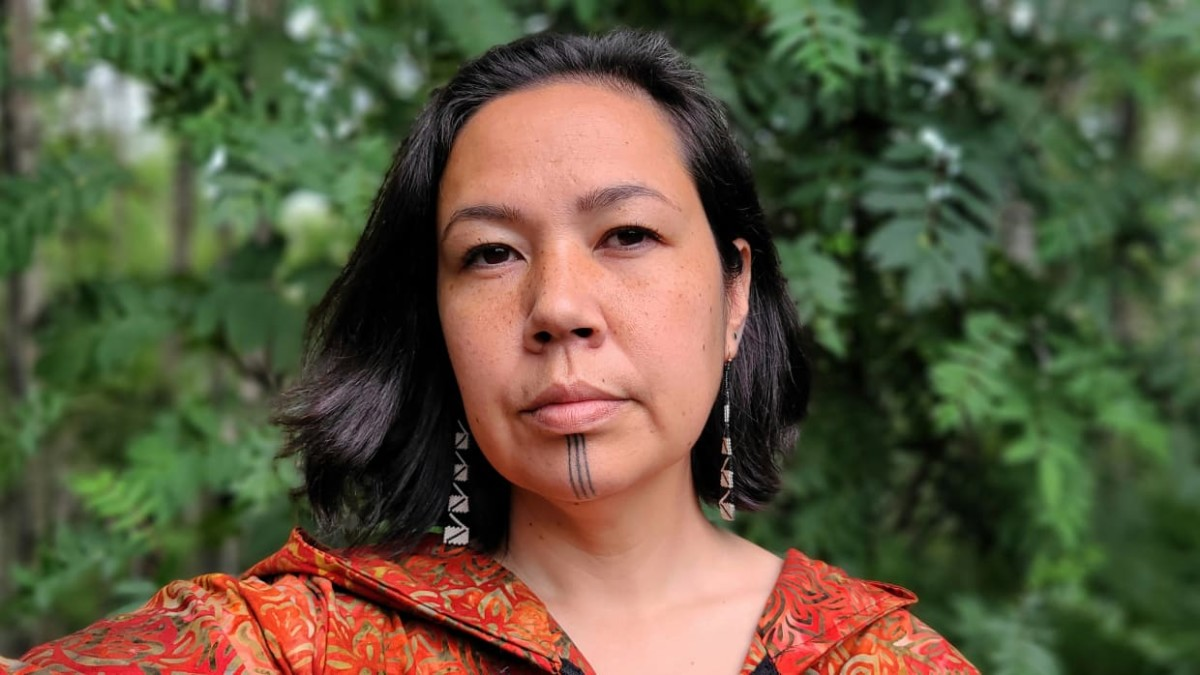 Ayyu Qassataq, Inupiaq, is a tribal citizen from Unalakleet. She was not a Native corporation shareholder growing up, but recently asked her mom to gift her shares so she could become more involved in her regional corporation. She felt most connected to her culture through land and community. (Photo courtesy of Ayyu Qassataq).