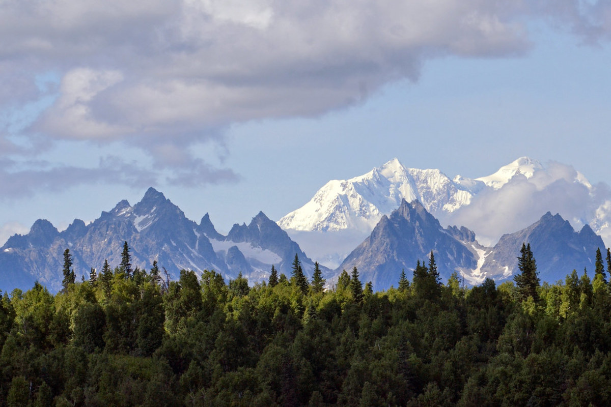 Denali National Park and Preserve is a popular destination for visitors. It's a 5 or 6 hour drive from the border entry point near Tok, which is a 36-hour drive from Seattle. (Photo by Joaqlin Estus, 2014).
