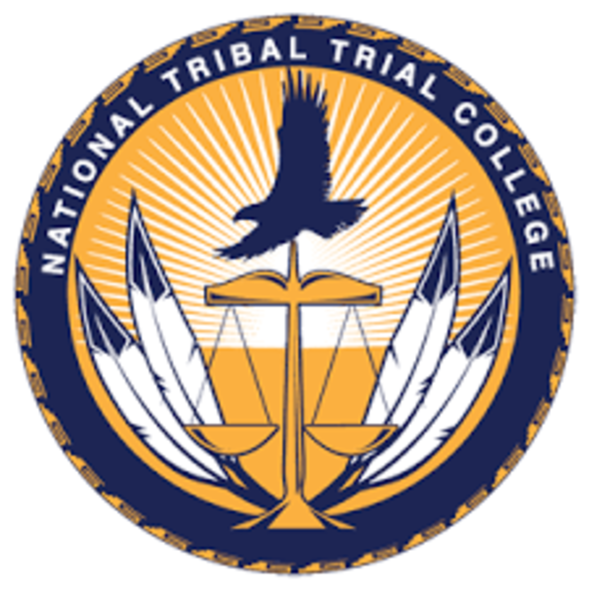 National Tribal Trial College - seal, logo