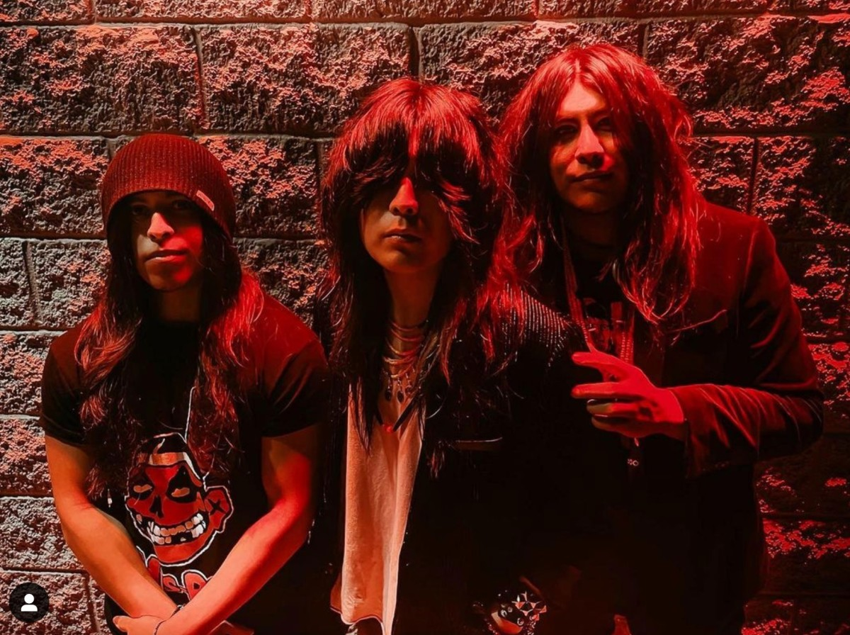 The Osceola Brothers - a rock band featuring siblings Cameron, 24, Tyson, 23, and Sheldon, 20 - are among a growing presence of Seminole and Miccosukee musicians in the spotlight. (Photo courtesy of Cameron Osceola)
