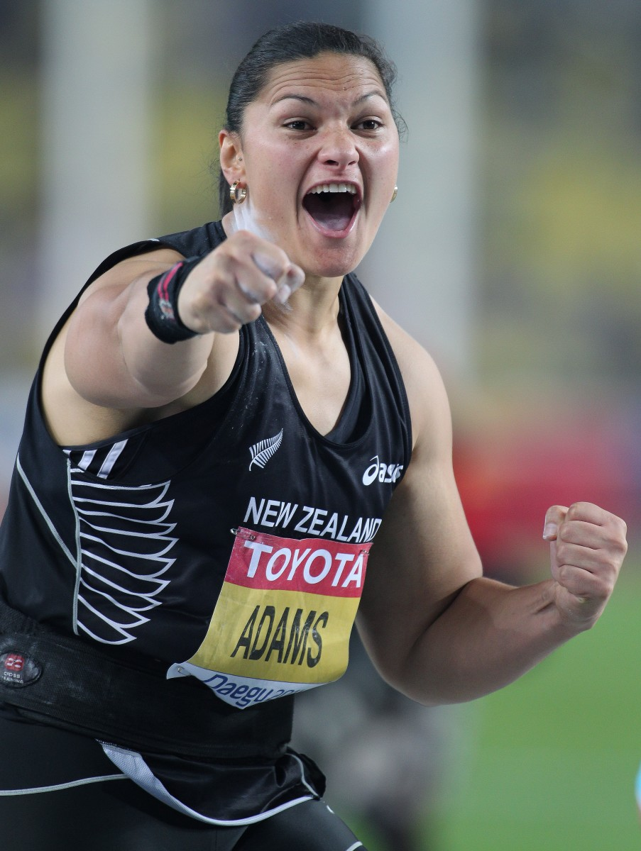 New Zealand's Valerie Adams, who is of Tongan descent, won the bronze medal in the shot put at the Tokyo Olympics. Adams was among at least 25 Indigenous athletes who won medals at the Olympics. (Photo courtesy of Claus Andersen)