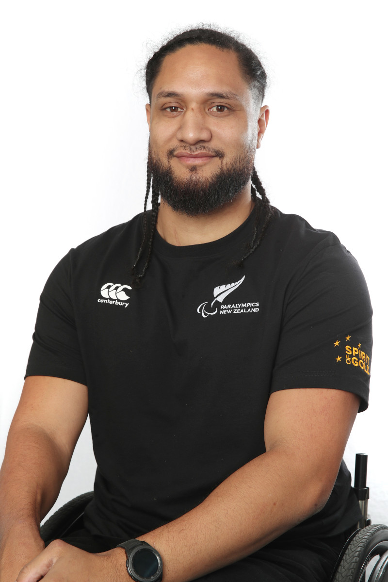 Hayden Barton-Cootes has been involved with the Wheel Blacks since 2015, where he made his debut against Australia. He loves the physicality of Wheelchair rugby and traveling around the world meeting awesome people along the way. (Photo courtesy of Getty Images via Paralympics New Zealand)