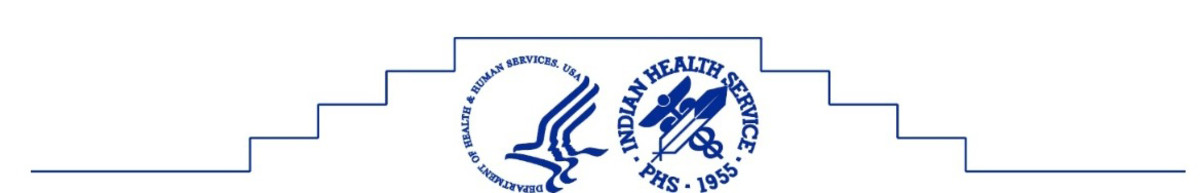 U.S. Department of Health & Human Services + Indian Health Services -- logos