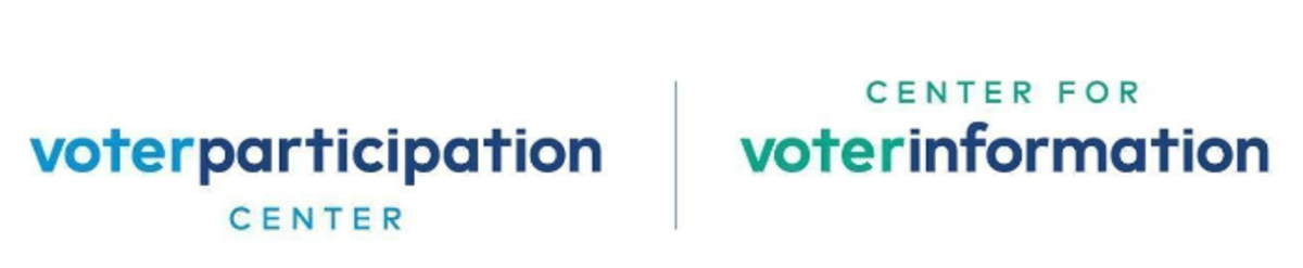 Voter Participation Center and Center for Voter Information logos