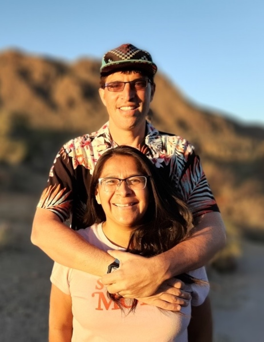 Anthony and Shannon Fleg founded the Native Health Initiative and the Running Medicine program in Albuquerque, New Mexico, to help Indigenous community members - and non-Natives - to enjoy the benefits of healthy activities. Anthony Fleg is a family physician and professor; Shannon Fleg, Diné, is co-director of the programs. (Photo courtesy of Anthony Fleg)