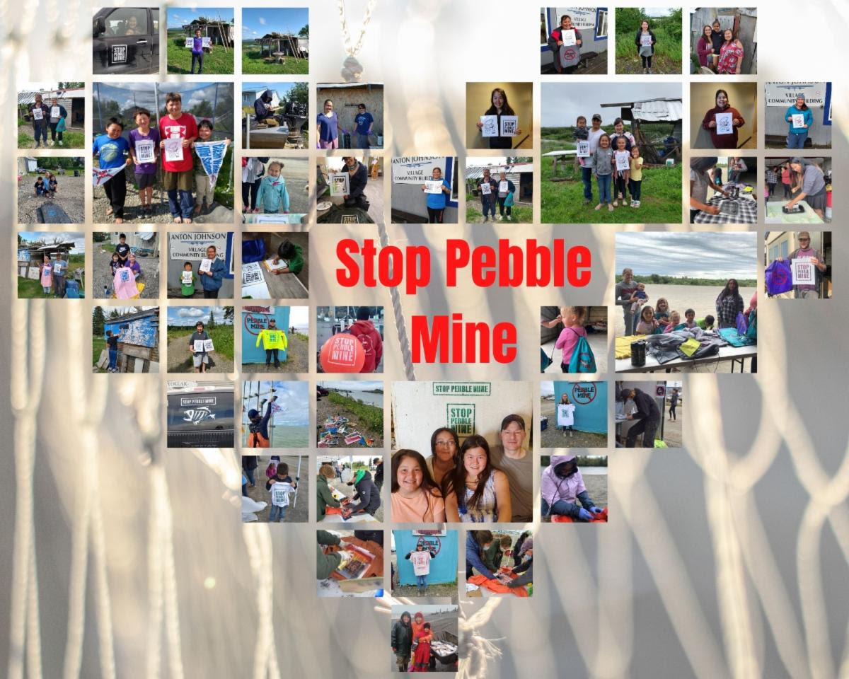 The Biden Administration is urged to enact permanent protections for the Bristol Bay watershed and stop Pebble Mine.