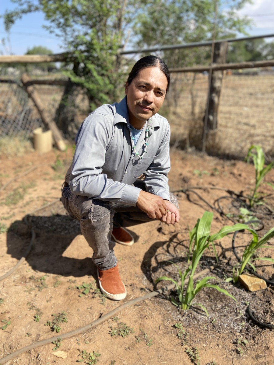 Angelo Baca, a Utah runner who is Diné and Hopi, says he has seen the impact of climate change while running in his homelands. (Photo courtesy of Angelo Baca)