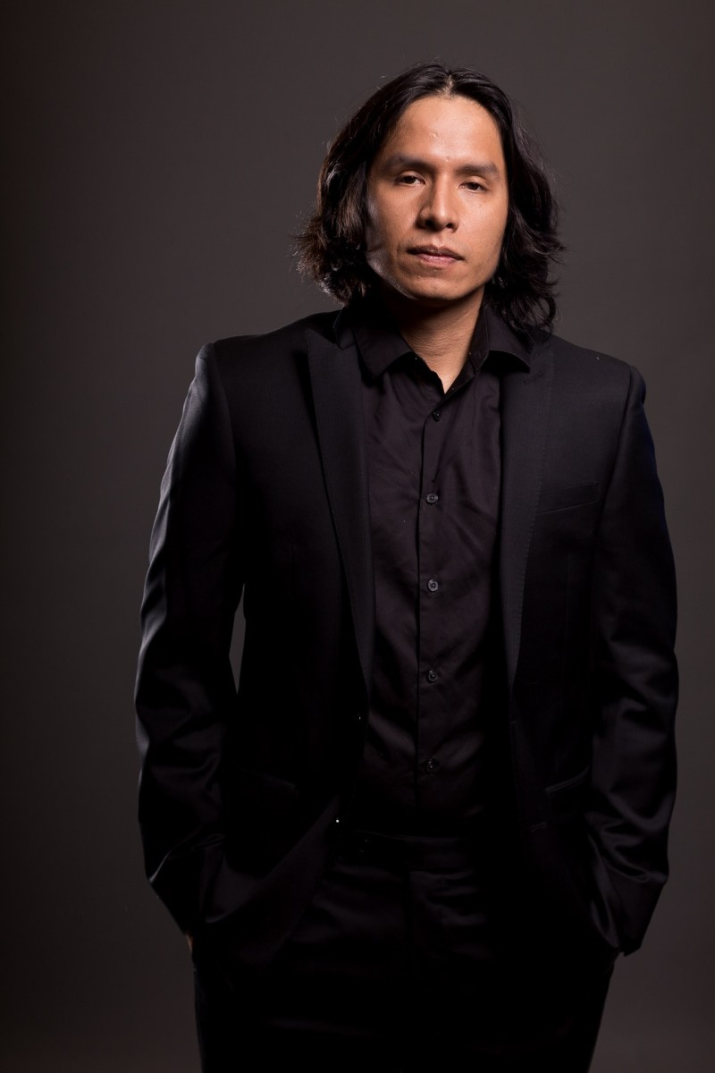 """Filmmaker Montana Cypress has written, directed and acted in more than a half-dozen films but he hasn't forgotten his roots on the Miccosukee Indian Reservation. One of his recent films, """"The Transcenders,"""" released in 2020, isset to be screened at the Lumbee Film Festival in Pembroke, North Carolina, on Sept. 18, 2021. (Photo by Jorchual Vargas, courtesy of Montana Cypress)"""