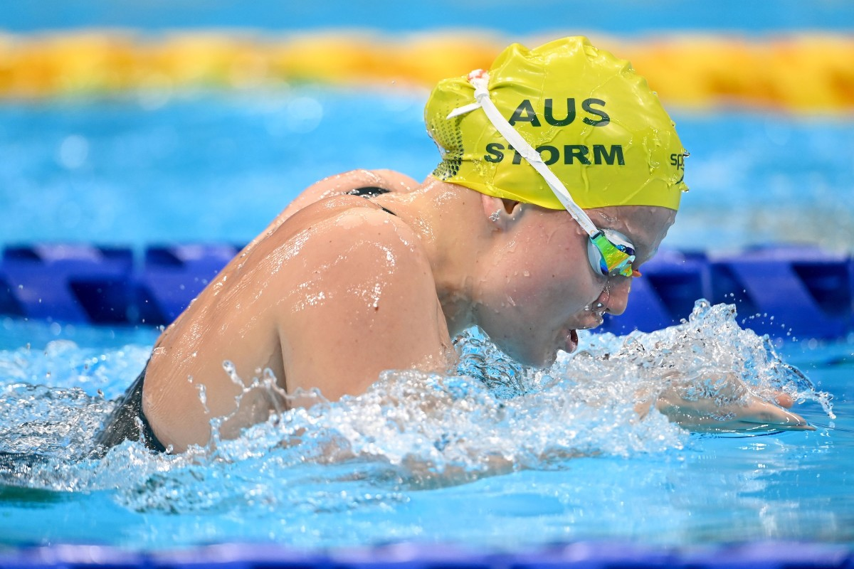 Australian Indigenous athlete Ruby Storm brought home two medals from the Tokyo Paralympics, silver in the mixed 4x100-meter freestyle relay and bronze in the women's 100-meter butterfly. Storm, 17, of the Wiradjuri tribe, was one of the youngest athlete to compete at the Paralympics, which ran Aug. 24-Sept. 5, 2021. (Photo courtesy of Australia Paralympics)