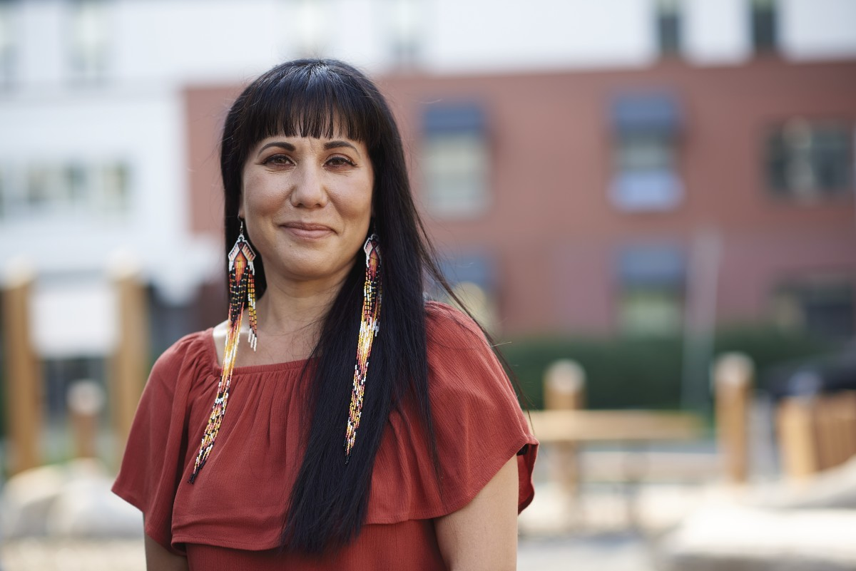 Leah Gazan, Lakota, a member of the Canadian Parliament from the National Democratic Party, said her party has held the Canadian government accountable for lack of action on Indigenous issues. A record number of Indigenous candidates is running for Parliament in the Sept. 20, 2021 snap election, focusing new attention on Indigenous issues and voters. (Photo courtesy of National Democratic Party)